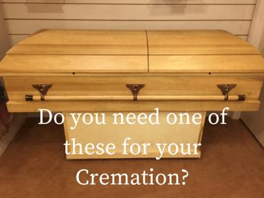 Cremation Rental Casket